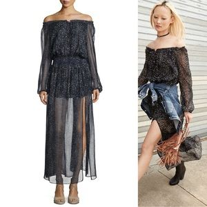 LoveShackFancy Constellation Maxi Dress